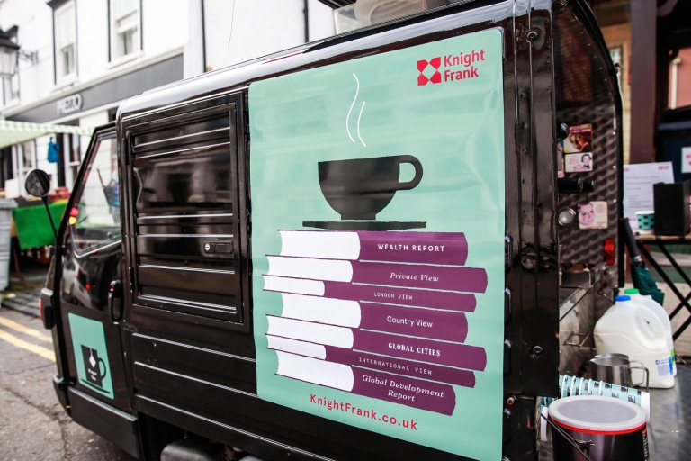 mobile coffee van for hire london