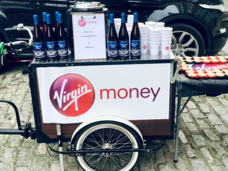 mobile coffee & mulled wine bar service
