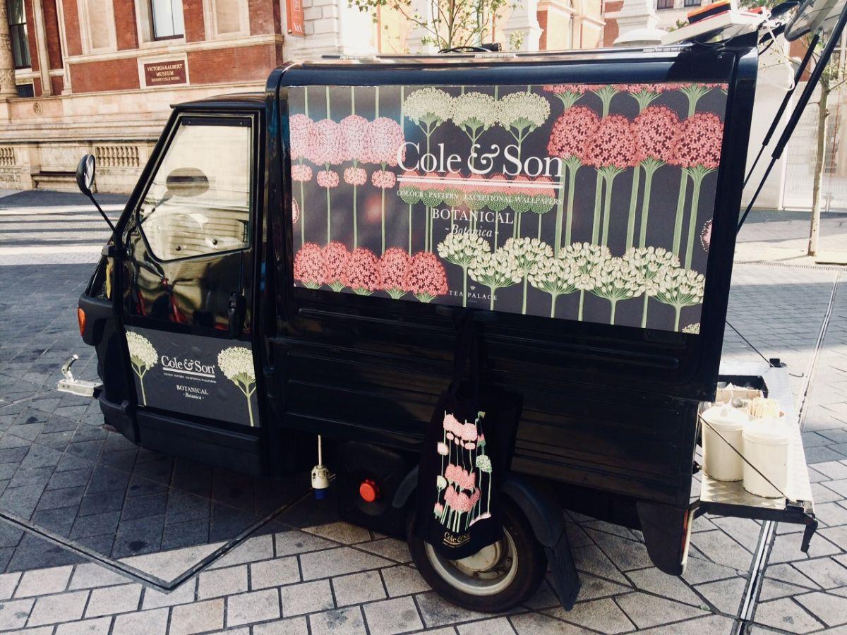 Branded mobile coffee van hire, London & uk
