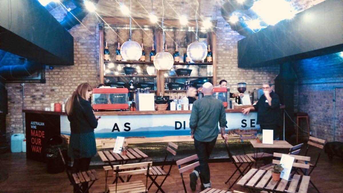 Mobile coffee bar & barista service for hire